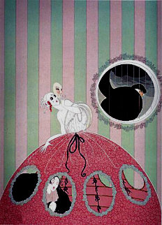 Deception AP Limited Edition Print -  Erte