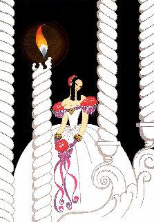 La Traviata 1982 40x33 Huge Limited Edition Print -  Erte