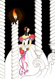 La Traviata 1982 40x33 Super Huge Limited Edition Print -  Erte