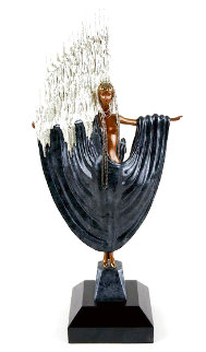 Arctic Sea  Bronze Sculpture 1988  24 in Sculpture -  Erte
