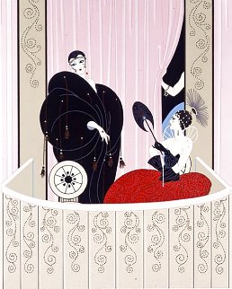 Loge De Theatre 1984 Limited Edition Print -  Erte
