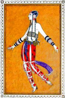Scheherazade 1924 17x15 Original Painting -  Erte