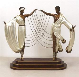 Wedding   Bronze Sculpture AP 1997 16 in  Sculpture -  Erte