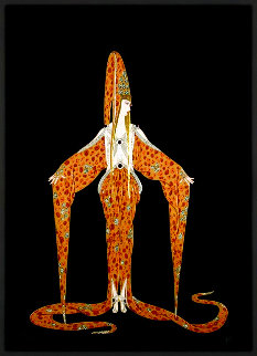 Starfish 1988 Limited Edition Print -  Erte
