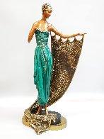 Emerald Night Bronze Sculpture 1988 22 in Sculpture by  Erte - 0