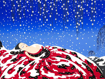 Sleeping Beauty 1980 Limited Edition Print -  Erte