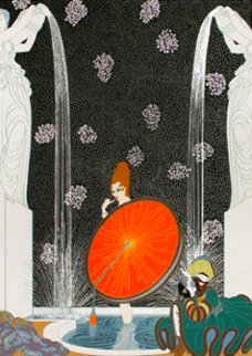 Bath of the Marquise 1980 Limited Edition Print -  Erte
