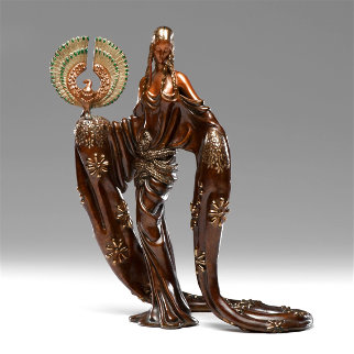 Wisdom Bronze Sculpture 1988 16 in Sculpture -  Erte