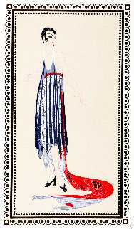 Vamps Suite: Circe 1979 Limited Edition Print -  Erte