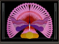 Phoenix And Reborn Framed Suite of 2 1983 Limited Edition Print by  Erte - 0