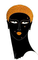 Queen of Sheba 1980 Limited Edition Print by  Erte - 0