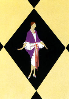 Manhattan Mary III 1979 Limited Edition Print -  Erte