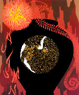 Autumn AP 1981 Limited Edition Print by  Erte - 0