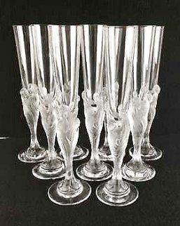 Flute Majestique Set of 10 Champagne Flutes Other -  Erte