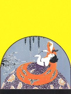 After the Rain 1979 Limited Edition Print -  Erte