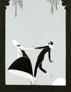 Pas De Deux 1986 Limited Edition Print -  Erte