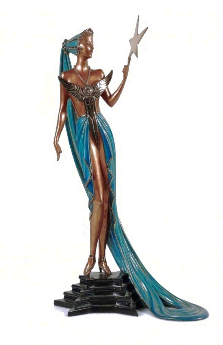 Astra Bronze Sculpture 1987 19 in Sculpture by  Erte