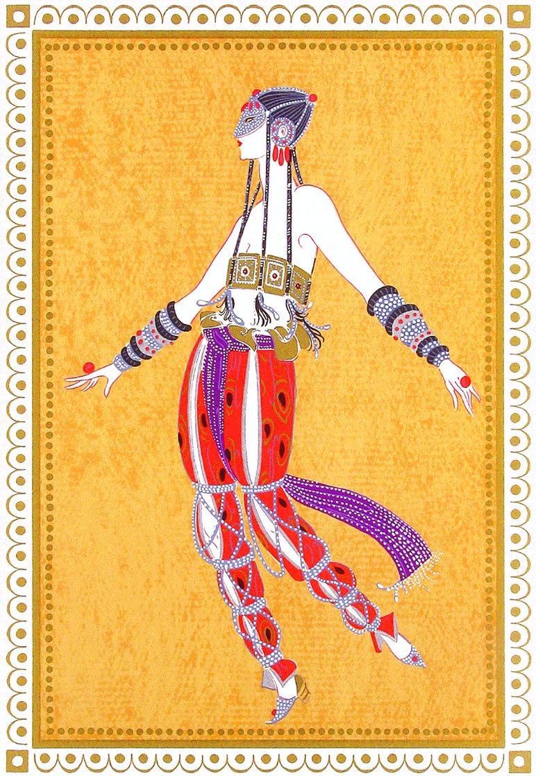Scheherezade Suite: Arabian Dancer 1980 Limited Edition Print by  Erte