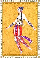 Scheherezade Suite: Arabian Dancer 1980 Limited Edition Print by  Erte - 0