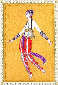 Scheherezade Suite: Arabian Dancer 1980 Limited Edition Print -  Erte