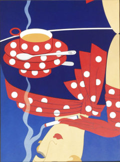 Reflections 1976 Limited Edition Print -  Erte
