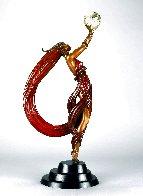 Globe Bronze Sculpture 1984 23 in Sculpture by  Erte - 0