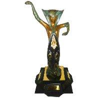 La Jalousie Bronze Sculpture 1983 14 in Sculpture by  Erte - 0
