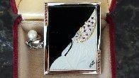 Beloved State V Gold Brooch 1981 Jewelry by  Erte - 1