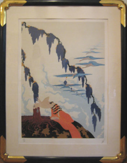 Vintage 1980 Limited Edition Print by  Erte