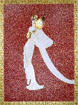 Tanagra Red AP 1989 Limited Edition Print -  Erte