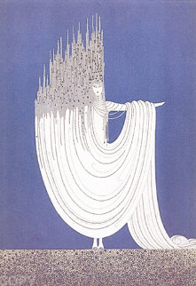 Arctic Sea 1981 Limited Edition Print by  Erte