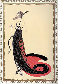 Vamps Suite of 6 1979 Limited Edition Print by  Erte