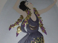Bacchante 1987 Limited Edition Print by  Erte - 3
