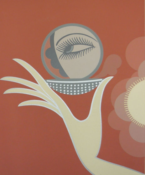 Compact Vanities 1974 Limited Edition Print by  Erte