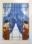 Winter's Arrival 1984 Limited Edition Print -  Erte