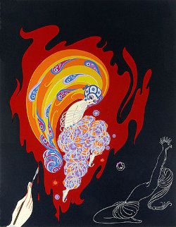 Oriental Tale 1982 Limited Edition Print by  Erte