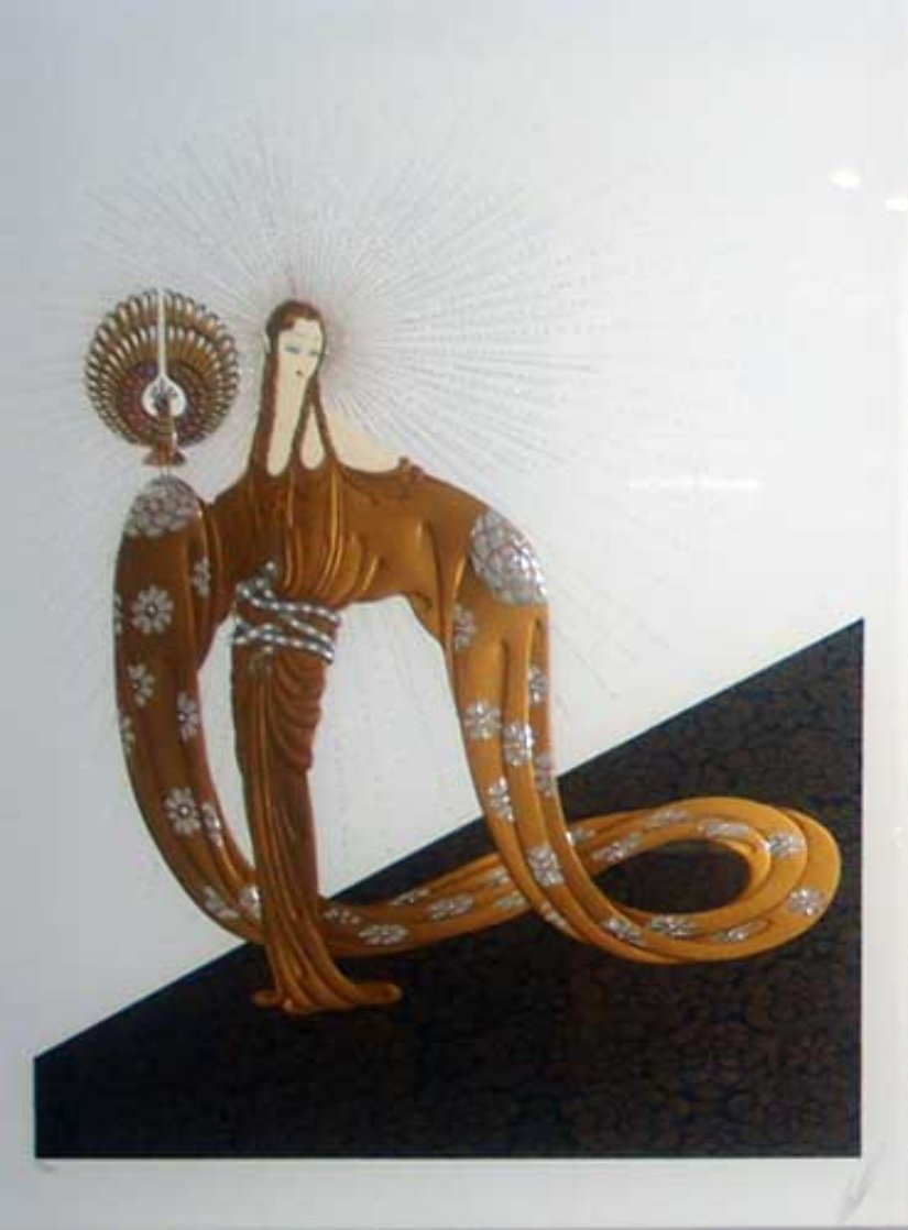 Celestial Virtues Suite of 2 1985 Limited Edition Print by  Erte