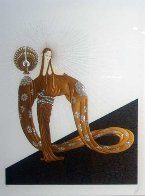 Celestial Virtues Suite of 2 1985 Limited Edition Print by  Erte - 0