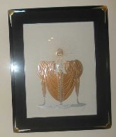 Celestial Virtues Suite of 2 1985 Limited Edition Print by  Erte - 3