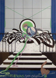 Paresseuse 1980 Limited Edition Print -  Erte
