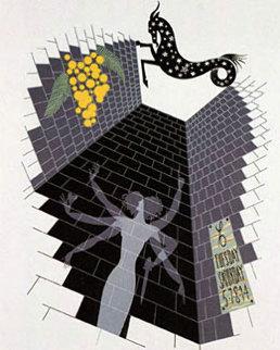 Zodiac Capricorn - 1982 Limited Edition Print -  Erte