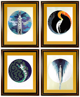 Four Emotions Suite: Set of 4 AP 1982 Limited Edition Print -  Erte