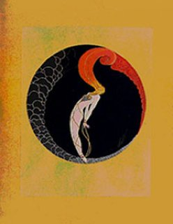 Four Emotions Suite of 4 Prints AP 1982 1/50 Limited Edition Print by  Erte