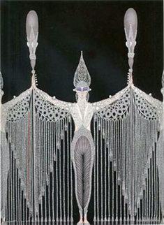 Les Bijoux de Perles 1983 Limited Edition Print by  Erte