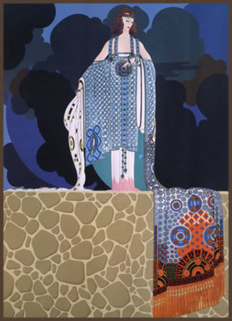 Mary Garden 1987 Limited Edition Print by  Erte
