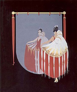 Mirror 1985 Limited Edition Print by  Erte