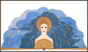 Storm 1987 Limited Edition Print -  Erte