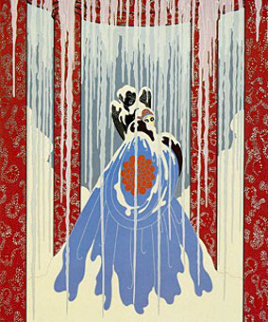 Love's Captive 1982 Limited Edition Print by  Erte