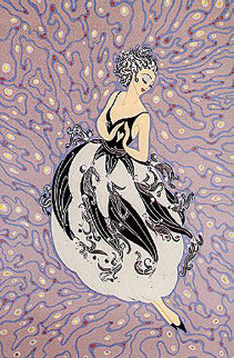 Tuxedo 1986 Limited Edition Print by  Erte