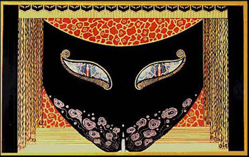 Eyes of Jealousy/Eyes of Love Suite 1983 Limited Edition Print -  Erte
